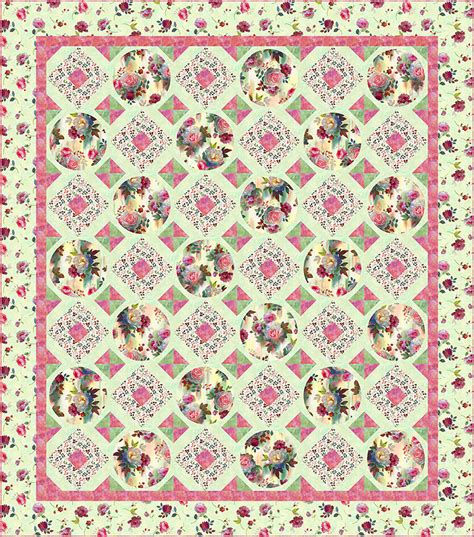 One Fabric Quilt Pattern by Free Pattern Rosewater Equilter Blogequilter