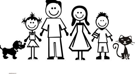 imagenes sobre la familia para niños dibujos del d 237 a de la familia para colorear