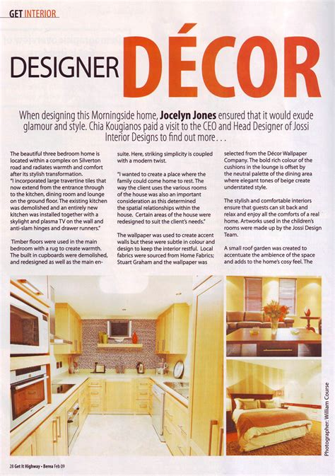 Home Design Articles | interior design magazine inside u0026 out magazine design