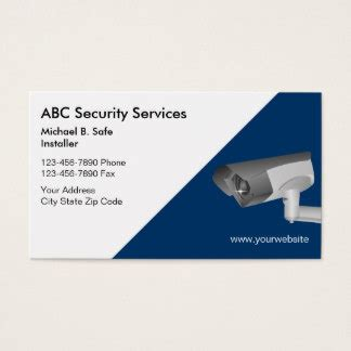 security business cards templates 443 security business cards and security business card
