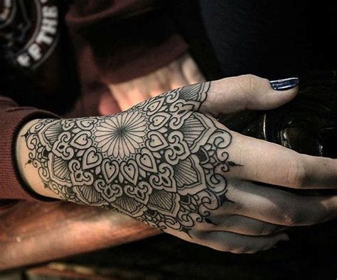 woman with the tattooed hands 500 design and ideas tattoos for