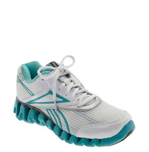 reebok zigtech womens running shoes reebok zig fuel running shoe in blue white blue