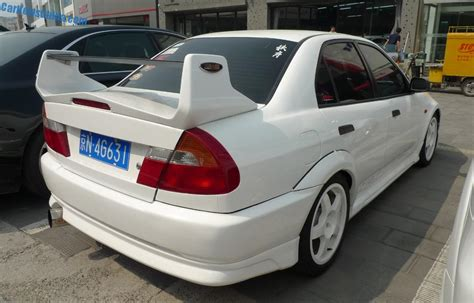 spotted in china mitsubishi lancer evo v carnewschina com