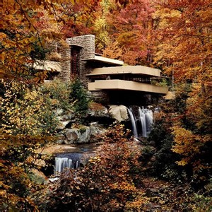 Falling Water House Ad Classics Fallingwater House Frank Lloyd Wright Archdaily