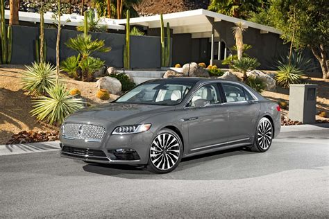 Lincoln Continental Review by 2018 Lincoln Continental 3 0t A Review Auto Car Update