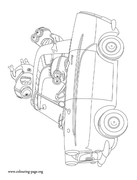 From Despicable Me 2 Coloring Pages Coloring Pages Despicable Me 2 Coloring Pages