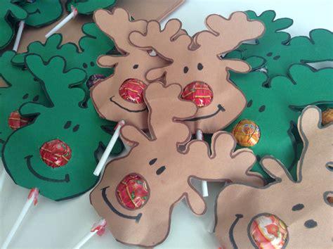 printable reindeer lollipop christmas gift reindeer nose lollipops