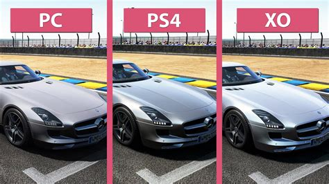 ps4 themes project cars project cars pc vs ps4 vs xbox one graphics comparison