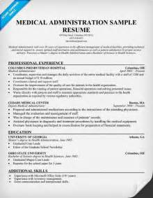 medical administration resume career tips pinterest