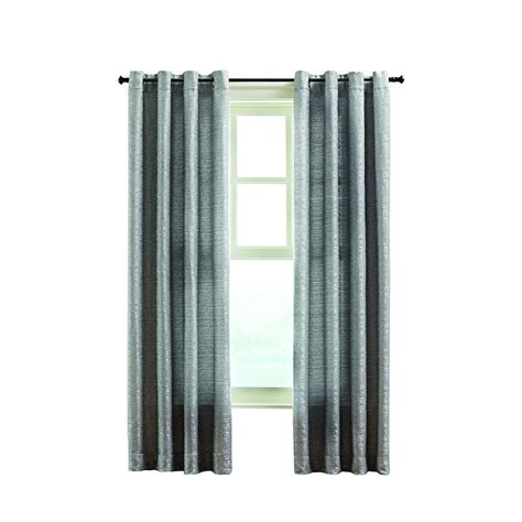 curtains at home depot home decorators collection gray montclair curtain 50 in