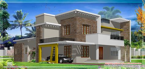 contemporary house plans flat roof november 2012 kerala home design and floor plans