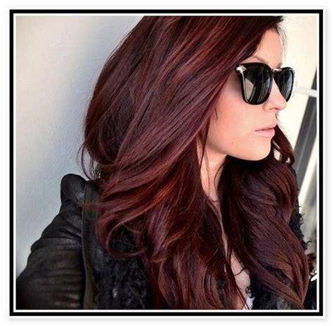 Types Of Auburn Hair Color by Best 25 Mahogany Hair Ideas On Mahogany
