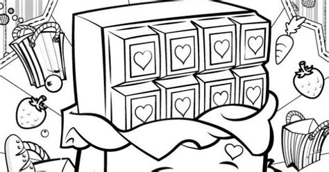 shopkins chocolate coloring page do you love cheeky chocolate print out this drawing and