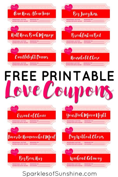 gift for boyfriend love coupon book gift ideas for husband