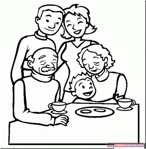 Family Day Coloring Pages Aile Boyama Sayfaları 214 Nce Okul 214 Ncesi Ekibi Forum by Family Day Coloring Pages