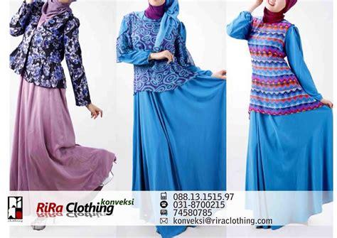 Konveksi Gamis Surabaya konveksi busana muslim surabaya rira clothing
