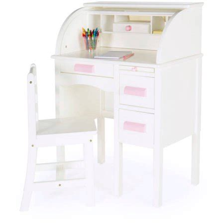 small white desk walmart guidecraft jr roll top desk white walmart com