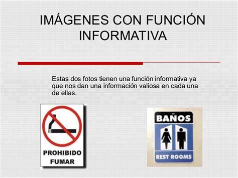 imagenes de informativa o referencial funciones de la imagen