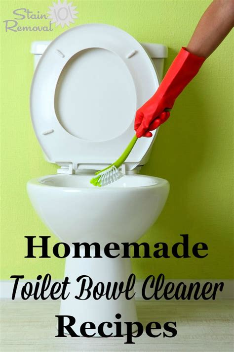 Nature Clean Toilet Bowl Cleaner toilet bowl cleaner recipes and home remedies