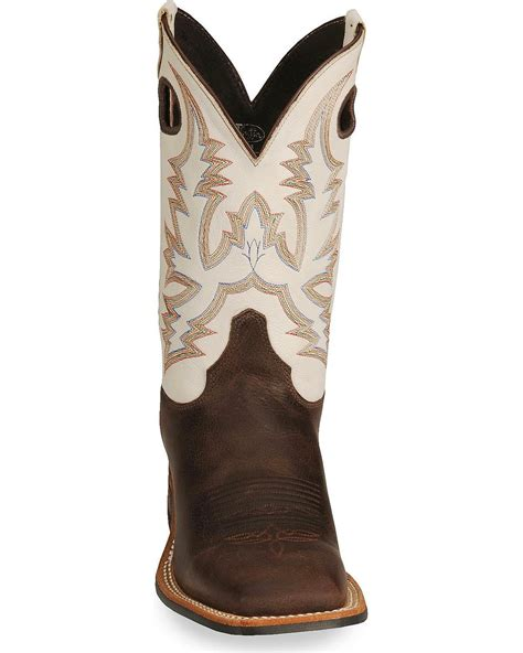 mens justin square toe cowboy boots justin s bent rail cowboy boot wide square toe br358