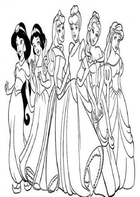 imagenes para colorear princesas de disney dibujos para colorear princesas dibujos para colorear