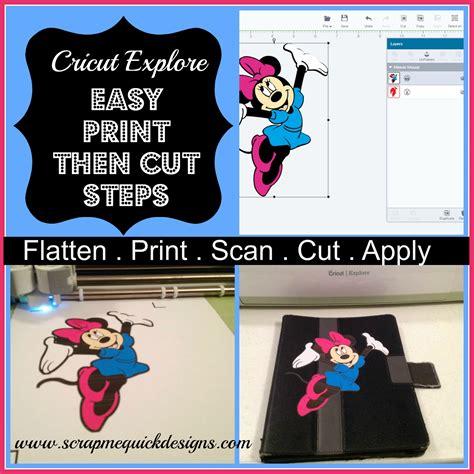 how to use cricut printable iron on light easy steps to cricut explore print then cut scrap me