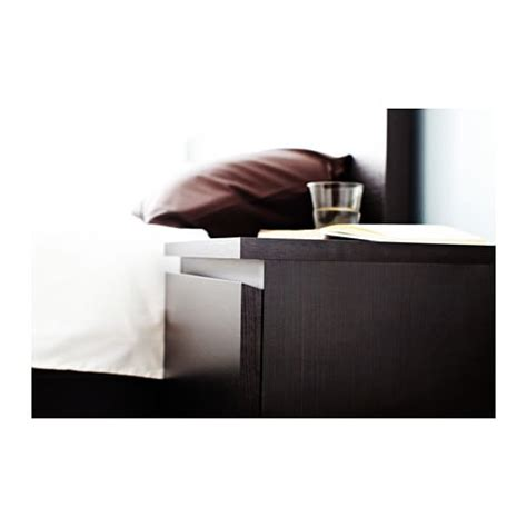 nachttisch ikea malm malm chest of 2 drawers black brown 40x55 cm ikea