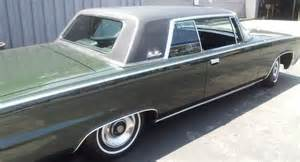 Crown Chrysler Mi Sell Used Chrysler Imperial Crown Coupe 1965 Mint