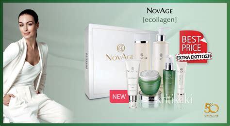 Skin Care Novage Ecollagen by Novage Ecollagen Light Skin Care Set Quot σκληρό Quot με τις