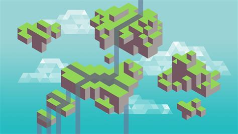 wallpaper desktop pixel pixel islands wallpaper 1024413