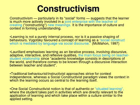 learning theory constructivist approach students social constructivism in the classroom google search