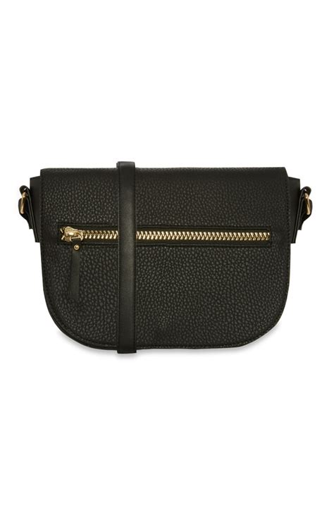 Lovely Zipped Polochon Purse by Primark Lovely Black Zip Cross Bag