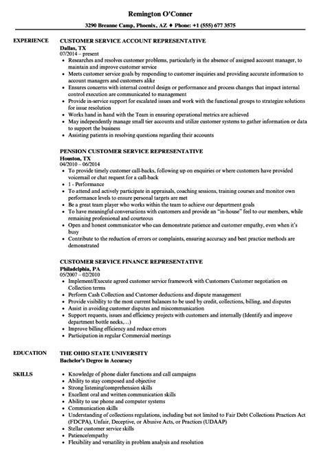 the stylish insurance customer service resume resume format web