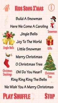 kids song x mas christmas songs on the app store