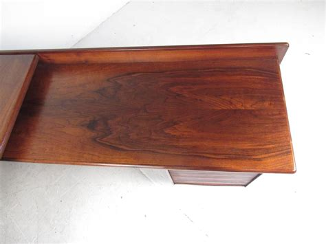 mid century l shaped desk impressive mid century modern l shaped executive desk at