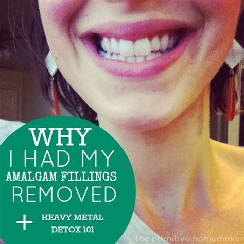 Mercury Filling Removal Detox by The Primitive Homemaker Removing Amalgam Fillings Heavy