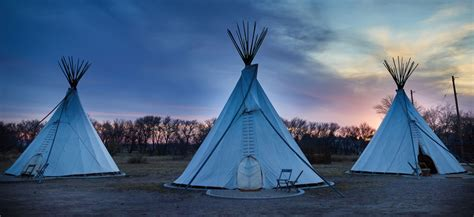 teepees   ultimate camping experience