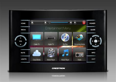 Home Theater Remote Control Touchscreen Graphics By Ntdesigns Smarthomes Home Automation Home Crestron Gui Templates