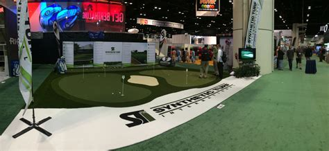 booth golf design need synthetic turf for your trade show booth sti has got