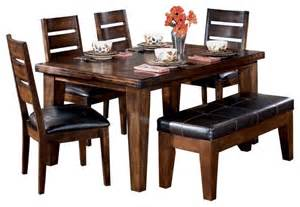 Casual Dining Room Furniture Sets by Signature Design By Ashley Larchmont Casual Dining Room