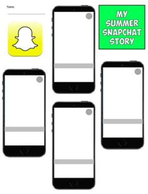 Snapchat Storyline Review Template Snapchat Template And Teacher Snapchat Ad Template