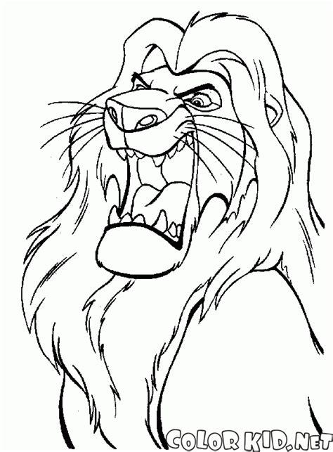 lion king mufasa coloring pages coloring page girlfriend simba nala