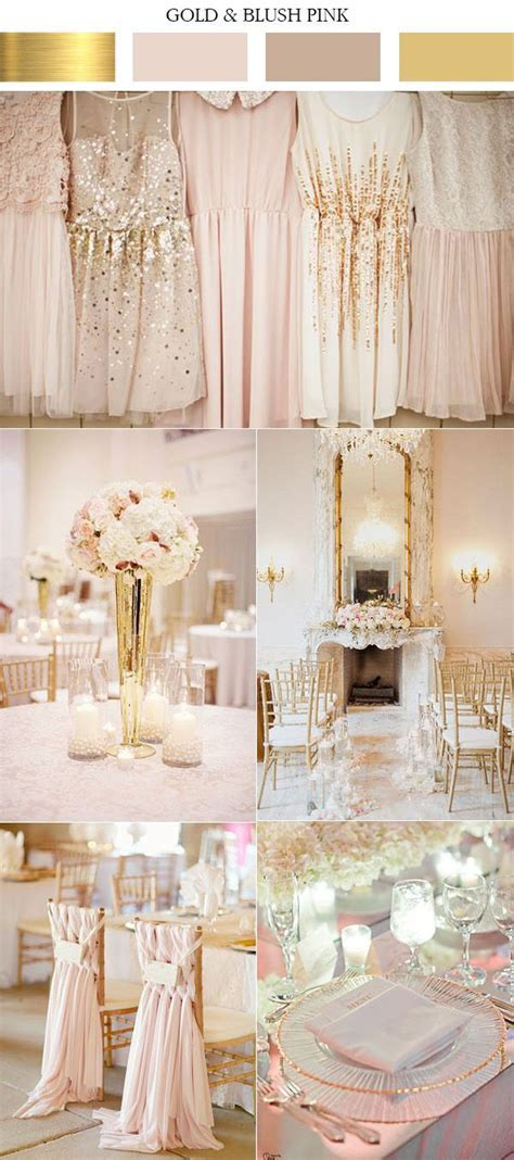 Top 10 Gold Wedding Color Ideas for 2017 Trends   Elegant
