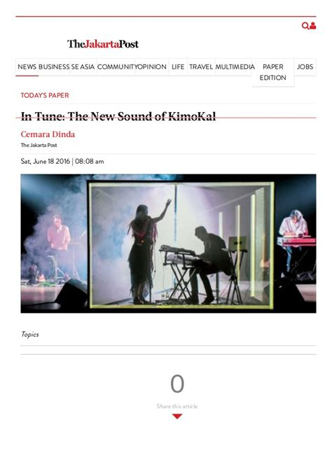 Kimokal Cd in tune the new sound of kimokal sat june 18 2016 the