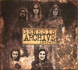 genesis archive genesis archive 1967 75 archive sler cd at discogs