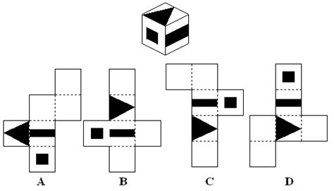 thought pattern quiz spatial ability tests free downloads