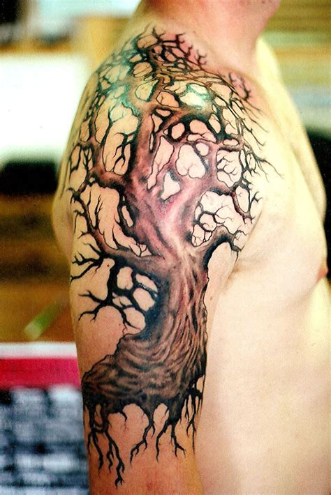 tree sleeve tattoos tree tattoos designs ideas and meaning tattoos for you