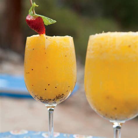 Kiwi-Orange-Mango Juice - Rachael Ray Every Day M Letter In Water