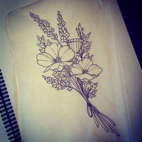 17 best ideas about birth flower tattoos on pinterest