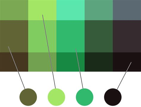 colors that look good with green how to get a professional look with color webdesigner depot